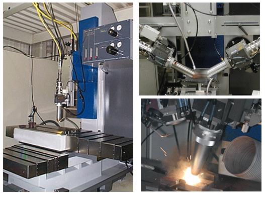 光ファイバー伝送型レーザー汎用加工装置:(株)リプス・ワークス