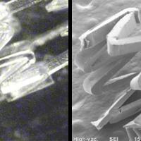 フッ素樹脂(LM-ETFE)へのステント形状加工①:㈱リプス・ワークス
