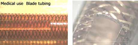メディカル用ブレードチューブの切断加工:㈱リプス・ワークス