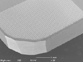 三角形レーザテスクチャによるアルミ合金のドライ切削加工における切りくず凝着の抑制:㈱リプス・ワークス