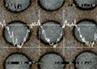 SUS420試験片に作製したマイクロ・ディンプル・パターン:㈱リプス・ワークス
